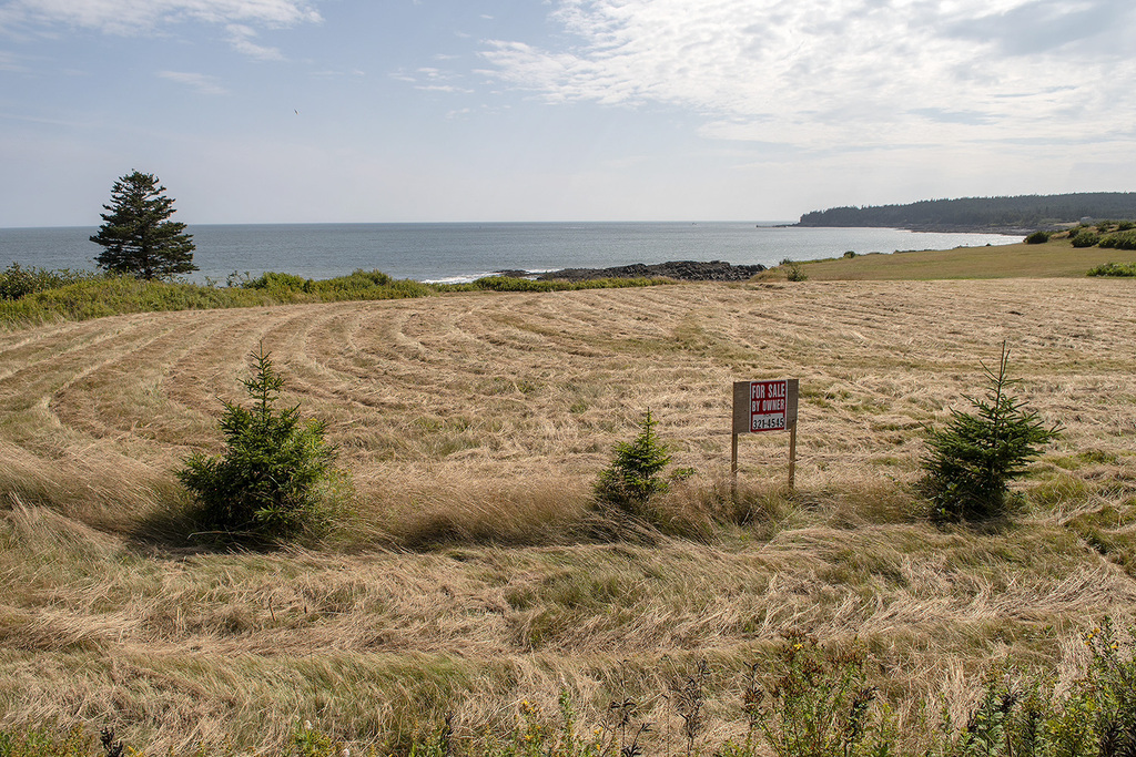 Waterfront Property / Building Lot / Empty Lot / Land For Sale on Grand Manan Island, NB