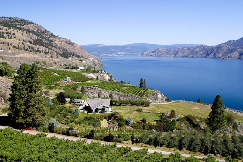 Waterfront Property / Acreage / Empty Lot / Farm / Land For Sale in Summerland, BC