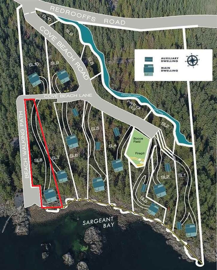 Building Lot / Empty Lot / Land For Sale in Halfmoon Bay, BC