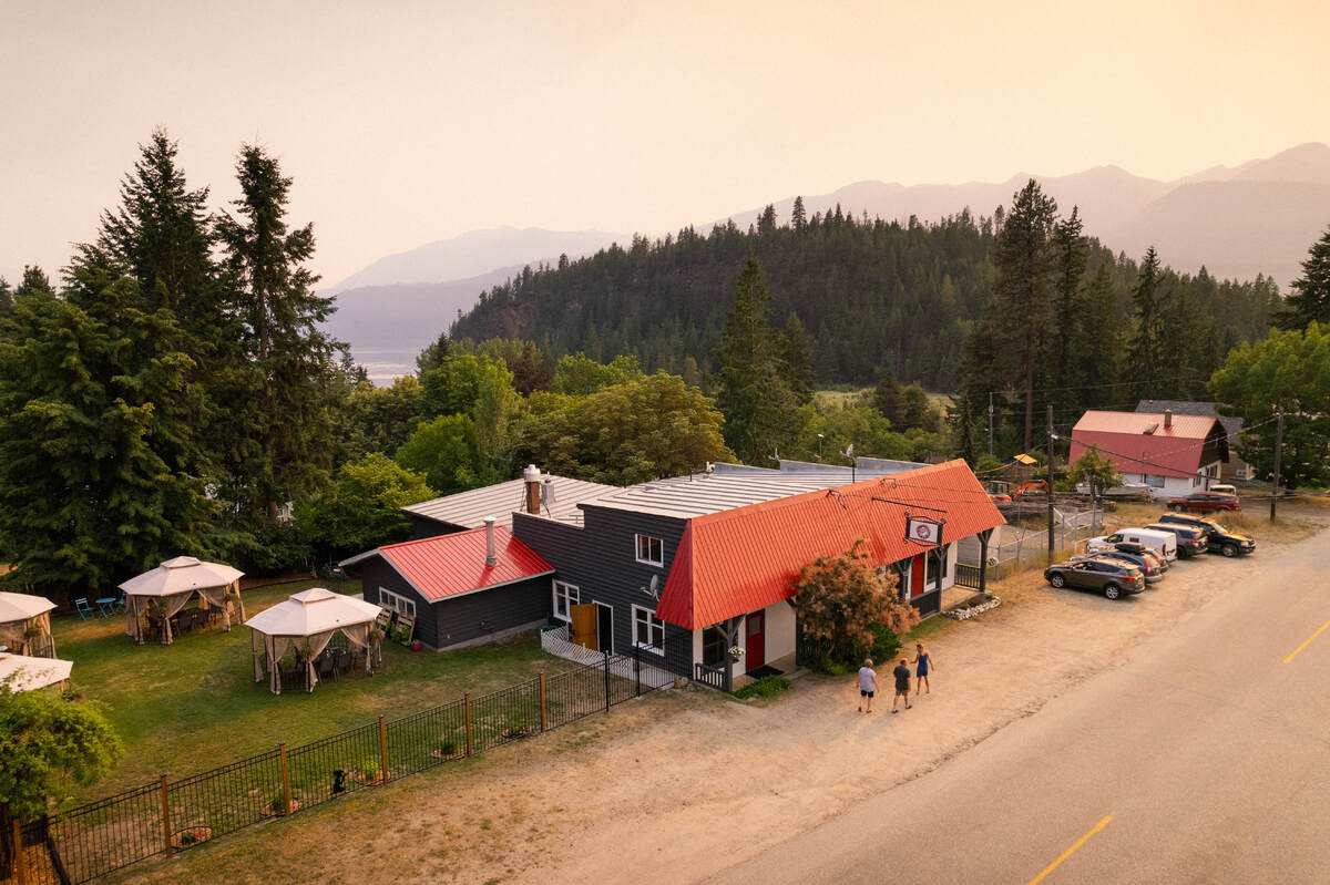 Business with Property / Home-Based Business Potential / Revenue Property For Sale in Riondel, BC - 3 bed, 2 bath