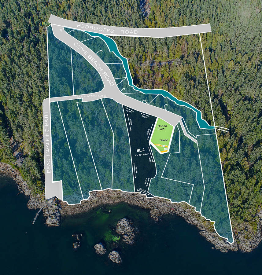Land / Building Lot / Empty Lot / Recreational Property For Sale in Halfmoon Bay, BC