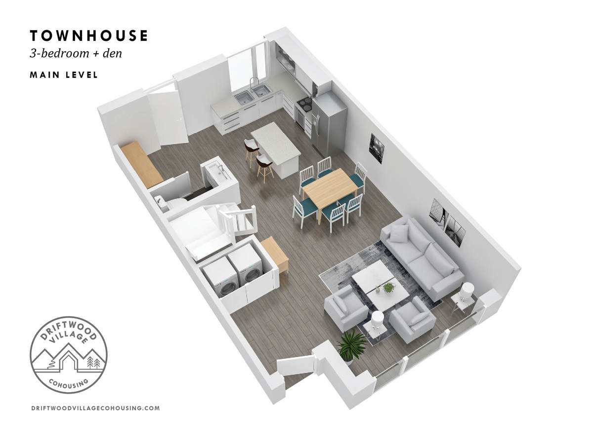 Townhouse / Apartment / Condo For Sale in North Vancouver, BC - 3 bed, 2.5 bath