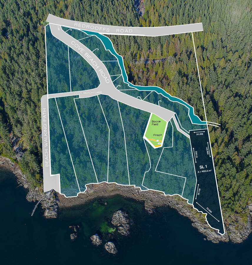 Land / Building Lot / Empty Lot For Sale in Halfmoon Bay, BC