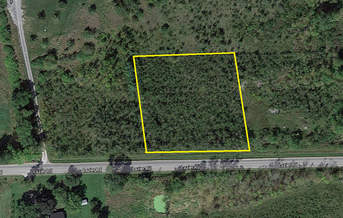 Building Lot / Acreage / Empty Lot / Land / Recreational Property For Sale in Shannonville, ON