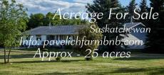 Acreage For Sale in Kenaston, SK - 5 bdrm, 4 bath - $585,000