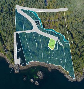 Building Lot / Empty Lot / Land For Sale in Halfmoon Bay, British Columbia - 0 bdrm, 0 bath (Lot 8 Cove Beach Lane)