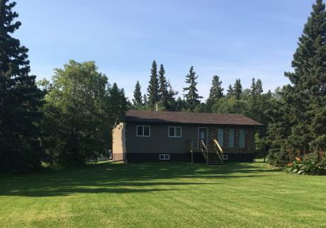 Acreage / Detached House / Home-Based Business Potential / Land with Building(s) / Recreational Property For Sale in Big River, SK - 3 bdrm, 1 bath (Delaronde Lake)