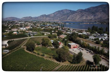 Land with Building(s) / Business with Property / Commercial Space / Farm / Home-Based Business Potential For Sale in Osoyoos, BC - 3+4 bdrm, 5 bath (3650 Hwy. 97 South)