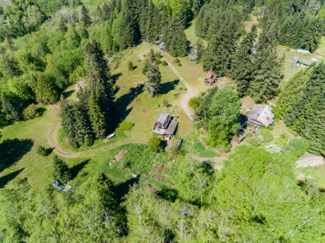 Acreage / Building Lot / Business with Property / Cottage / Detached House For Sale in Qualicum Beach, BC - 3+5 bdrm, 2 bath (1180-1190 Allgard Road)