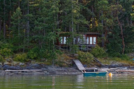 Recreational Property / Cottage / Waterfront Property For Sale on Ruxton Island, BC - 2 bdrm, 1 bath (Lot 2, Otter Bay Road)