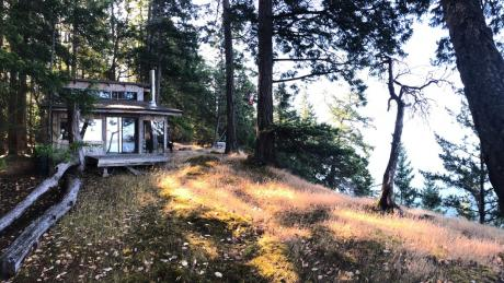 Cottage / Waterfront Property For Sale on DeCourcy Island, BC - 1 bdrm, 0 bath (573 Flewett Drive)