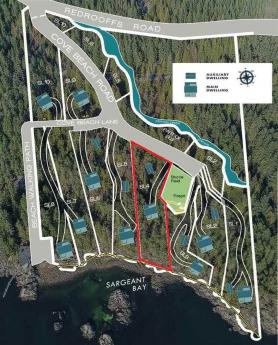 Land / Building Lot / Empty Lot / Recreational Property For Sale in Halfmoon Bay, British Columbia - 0 bdrm, 0 bath (7615 Cove Beach Road)