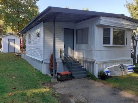 Mobile Home / Patio Home For Sale in Shawnigan Lake, BC - 2+1 bdrm, 1 bath (50, 2785 Wallbank Rd.)