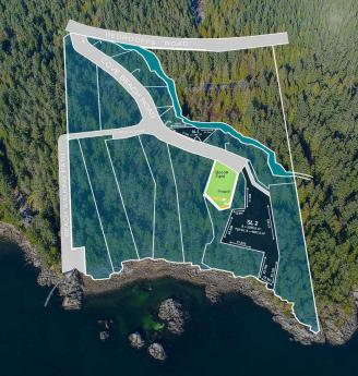 Land / Building Lot / Empty Lot For Sale in Halfmoon Bay, British Columbia - 0 bdrm, 0 bath (7559 Cove Beach Road)