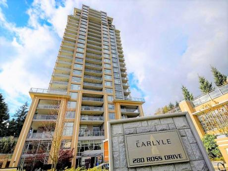 Condo For Sale in New Westminster, BC - 1 bdrm, 1 bath (2503, 280 Ross Drive)