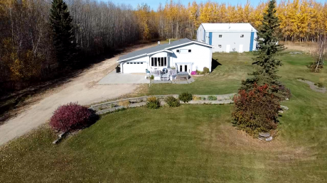 Acreage / Home-Based Business Potential For Sale in Whitecourt, AB - 4+1 bdrm, 2.5 bath (13 125016 Twp 593a)