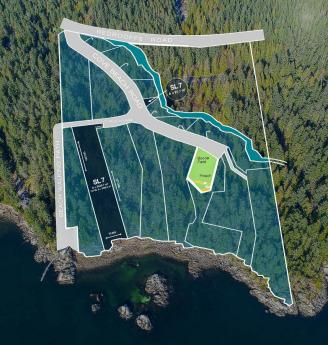 Building Lot / Empty Lot / Land For Sale in Halfmoon Bay, British Columbia - 0 bdrm, 0 bath (Lot 7 Cove Beach Lane)