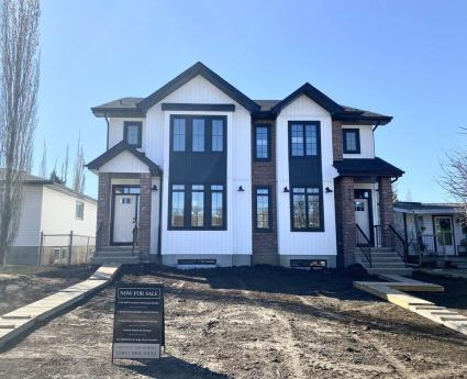 Half Duplex For Sale in Edmonton, AB - 3 bdrm, 2.5 bath (8527 74 Avenue NW)