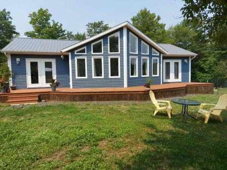 Acreage / House / Land with Building(s) For Sale in Bear River, NS - 3 bdrm, 2.5 bath (241 Morganville Road)