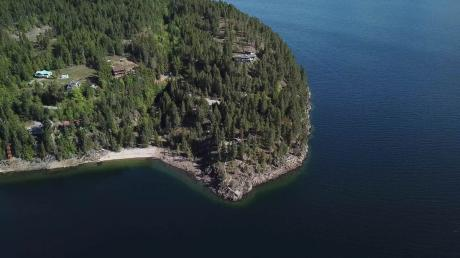 Acreage / Building Lot / Land / Recreational Property / Waterfront Property For Sale in Kaslo, BC - 0 bdrm, 0 bath (4257 Woodbury Village Road)