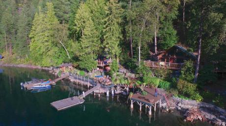 Waterfront Property / Cottage / House For Sale in D'Arcy, BC - 5 bdrm, 2.5 bath (PO Box 80)