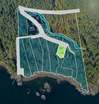 Building Lot / Empty Lot / Land For Sale in Halfmoon Bay, British Columbia - 0 bdrm, 0 bath (Lot 9 Cove Beach Lane)