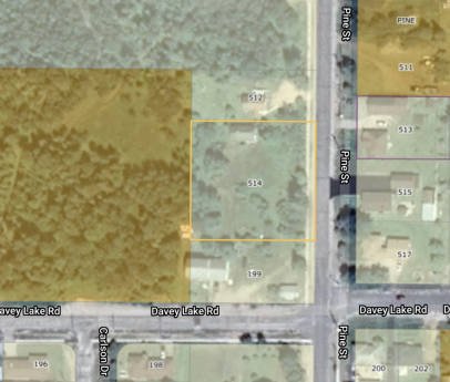 Vacant Land For Sale in Ignace, ON - 0 bdrm, 0 bath (514 Pine Street)