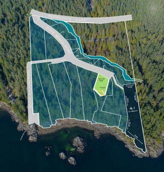 Land / Building Lot / Empty Lot For Sale in Halfmoon Bay, British Columbia - 0 bdrm, 0 bath (7531 Cove Beach Road)