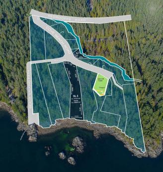 Building Lot / Empty Lot / Land For Sale in Halfmoon Bay, British Columbia - 0 bdrm, 0 bath (7643 Cove Beach Road)