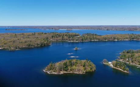 Island / Recreational Property / Vacant Land / Waterfront Property For Sale in Landsdowne, ON - 0 bdrm, 0 bath (Saint Lawrence River)