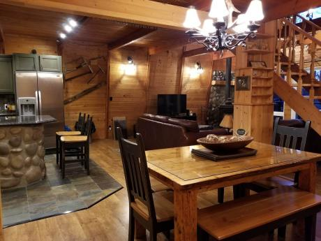 Acreage / Detached House / Patio Home / Recreational Property / Revenue Property For Sale in Nakamun Lake, AB - 3 bdrm, 1 bath (#21 56514 Range Road 21)