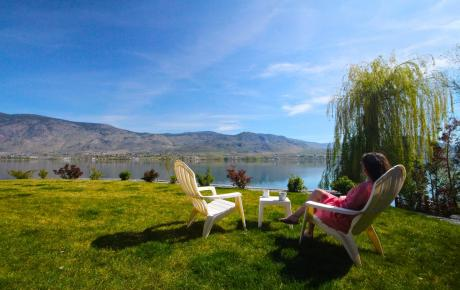 Waterfront Property / Detached House / House / Land with Building(s) / Recreational Property For Sale in Osoyoos, BC - 4 bdrm, 3 bath (817 85th St)