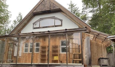 House / Acreage / Cottage / Farm / Recreational Property For Sale on Lasqueti Island, BC - 3 bdrm, 1 bath (Lot C Elderberry Lane)