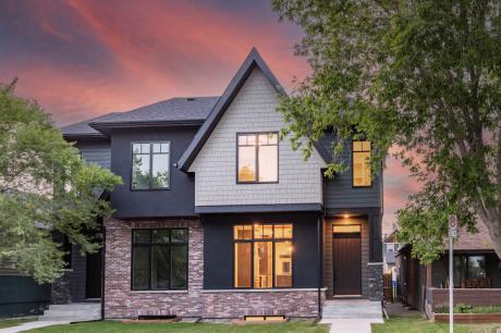 Half Duplex For Sale in Calgary, AB - 4 bdrm, 3.5 bath (720 23 Ave SE)