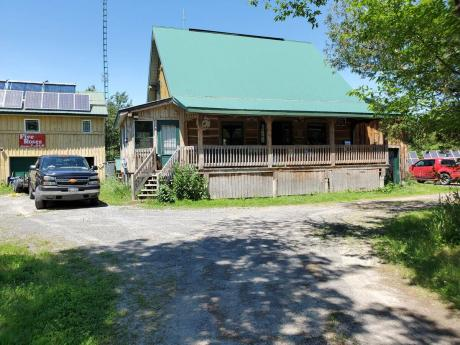 Acreage / Farm / Home-Based Business Potential For Sale in North Augusta, ON - 3 bdrm, 2 bath (9512 Hall Rd)