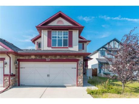 House For Sale in Calgary, AB - 3 bdrm, 3 bath (307 Silverado Range Pl SW)