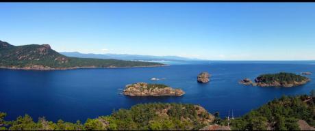 Island / Waterfront Property For Sale on Lasqueti Island, BC - 0 bdrm, 0 bath (0 Circle Island)