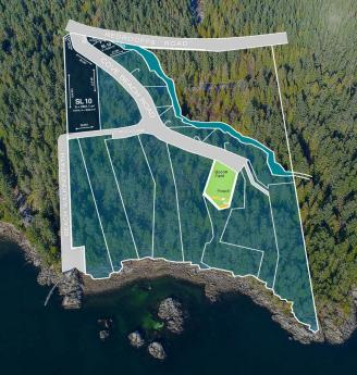 Land / Building Lot / Empty Lot For Sale in Halfmoon Bay, British Columbia - 0 bdrm, 0 bath (Lot 10 Cove Beach Lane)