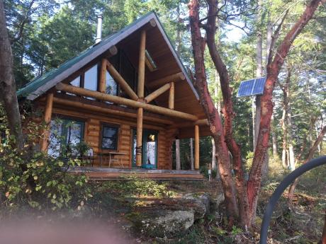 Recreational Property / Waterfront Property For Sale on Ruxton Island, BC - 2 bdrm, 1 bath (Lot 5 Otter Bay)