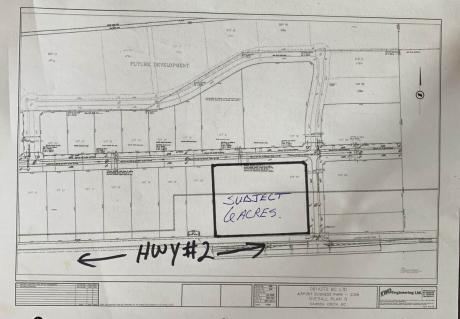 Vacant Land For Sale in Dawson Creek, BC - 0 bdrm, 0 bath (35 Vic Turner Rd)
