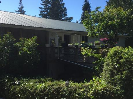 Waterfront Property / Detached House / Home-Based Business Potential For Sale in Gillies Bay, BC - 4+1 bdrm, 2 bath (5780 Gillies Bay Road)
