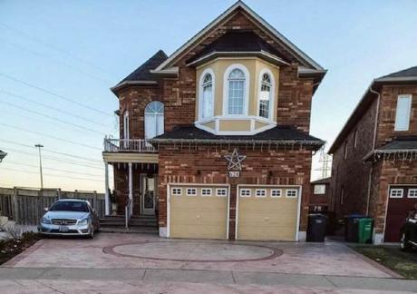 House For Sale in Mississauga, ON - 5+2 bdrm, 5 bath (628 Orange Walk Crescent)